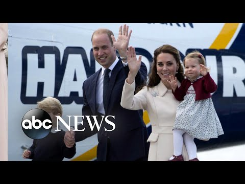 Prince William and Princess Kate embark on royal tour with Prince George and Princess Charlotte