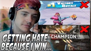 Ninja Responds To People HATING On Him For Winning EVERY Tournament & Want Him Taken DOWN...