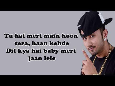 Lyrics | KHADKE GLASSY (LYRICS) | Jabariya Jodi | Yo Yo Honey Singh lyric video