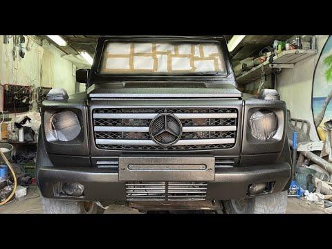 Теперь выглядит лучше чем едет! Mercedes G-Class за 505к