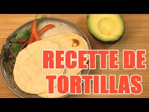 recette de tortilla mexicaine maison la farine de ma s youtube. Black Bedroom Furniture Sets. Home Design Ideas