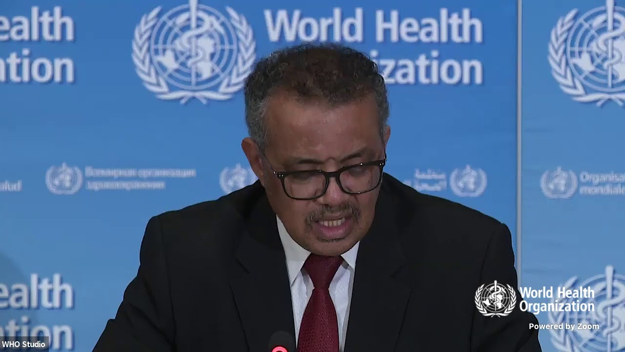 WHO Director-General's opening remarks at the media briefing on ...
