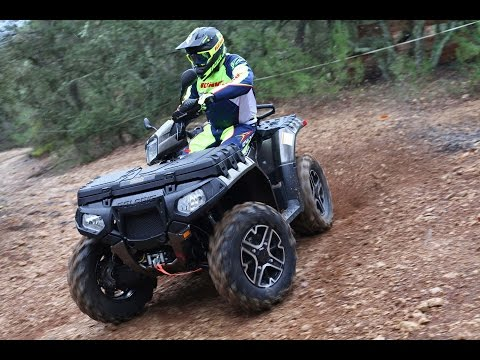 Essai Polaris Sportsman 1000 XP Touring 2015