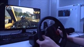 City Car Driving C63 AMG / Logitech Driving Force GT [HD+]