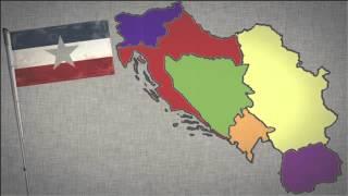 Jugoslawien Krieg Animation in 3:45 Minuten