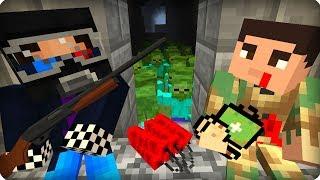 Попались в ловушку зомби [ЧАСТЬ 47] Зомби апокалипсис в майнкрафт! - (Minecraft - Сериал)
