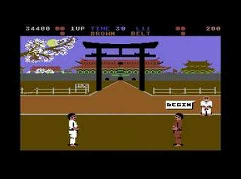 C64 Longplay - International Karate