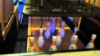 Qubica AMF TMS String Pinspotter Bowling Machine Part 1