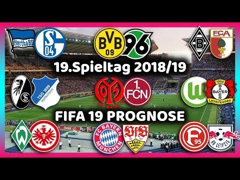 19.Spieltag - Alle Highlights und Tore - Bundesliga Prognose I FIFA 19 I 2018/19 Deutsch (HD) thumbnail