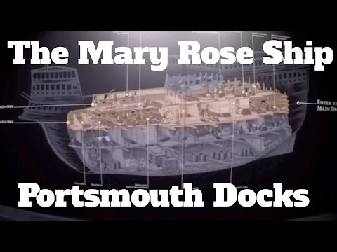 Take a Tour of The Mary Rose Ship Portsmouth Docks