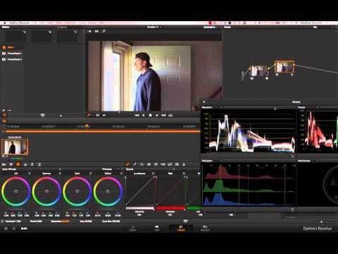 How to Grade Sony A6300 Slog2/Slog3 in Davinci Resolve