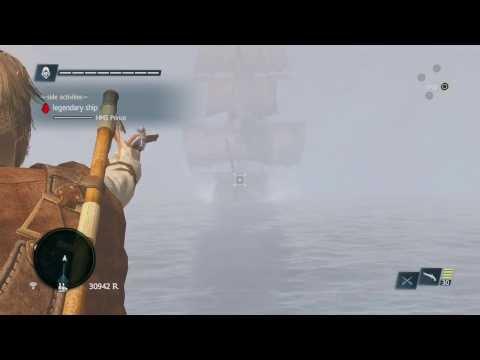 How to Easily Defeat Legendary Ship: HMS Prince no upgrades!! Assassin's Creed 4 Legendary Ship PS4