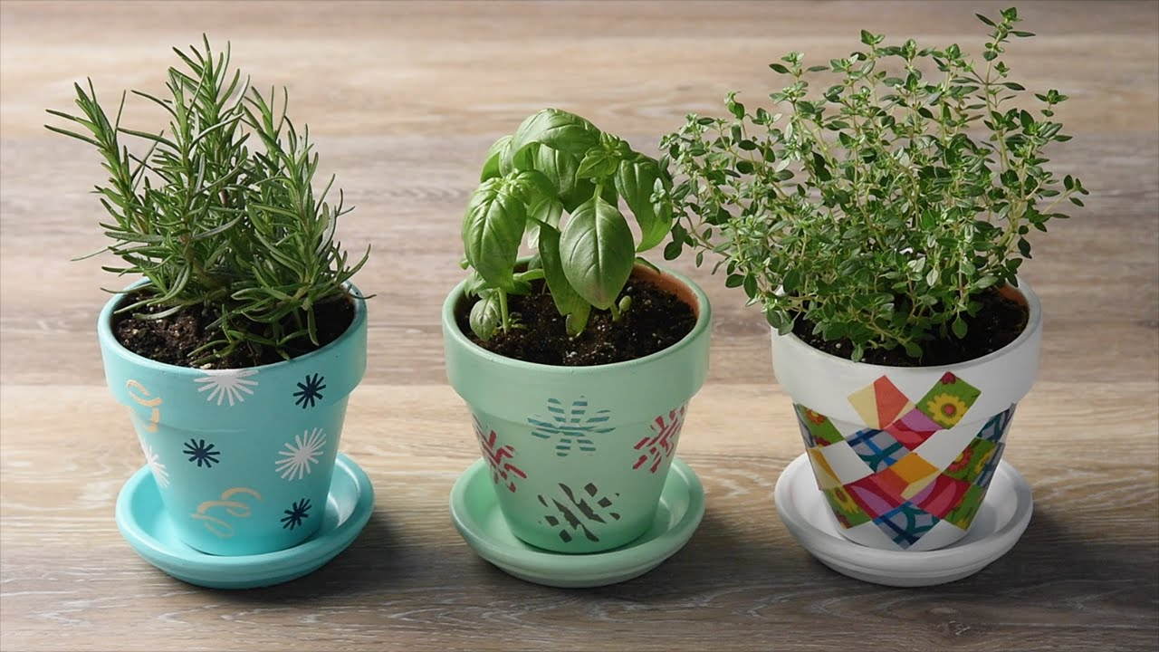 Perk Up Your Planters With 3 Diy Flower Pot Ideas