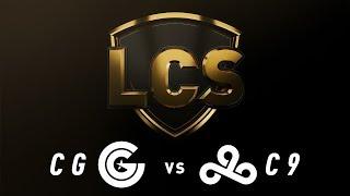 CG vs. C9 - Week 3 Day 2 | LCS Spring Split | Clutch Gaming vs. Cloud9 (2019)