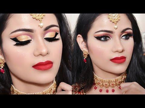 ईद पर ऐसे करें मेकअप Affordable EID Party Makeup Tutorial 2019 In Hindi thumbnail