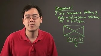 What Does Diagonal Mean in Math? : Math Definitions & More