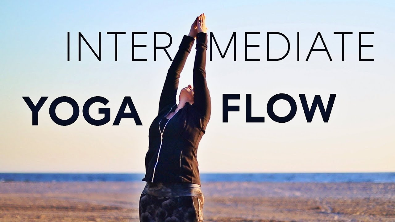 20 Minute Yoga Flow Vinyasa Class (intermediate) | Fightmaster Yoga Videos