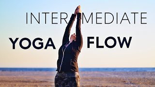Vinyasa Flow Yoga Class (intermediate)