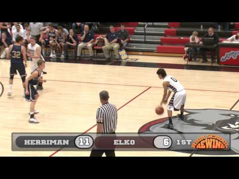 High School Rewind - Herriman vs Elko, NV (Boys Basketball) {12-20-13 at West}