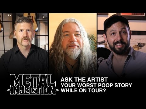 ASK THE ARTIST What Is Your Worst Poop Related Tour Story? | Metal Injection