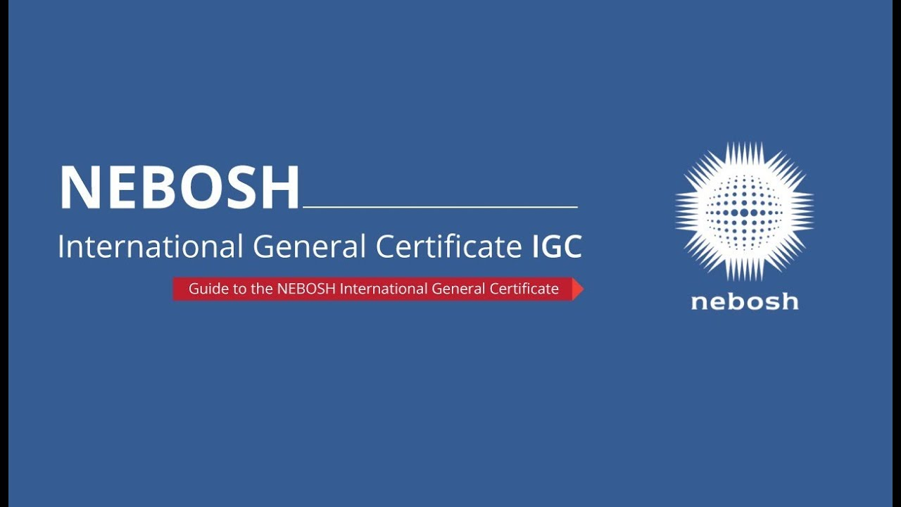 Nebosh International General Certificate Study Book