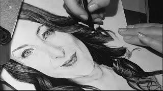 Me drawing Willemijn Verkaik