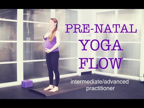50 min Pre Natal Total Body Strong Yoga Flow | Strength, Ton