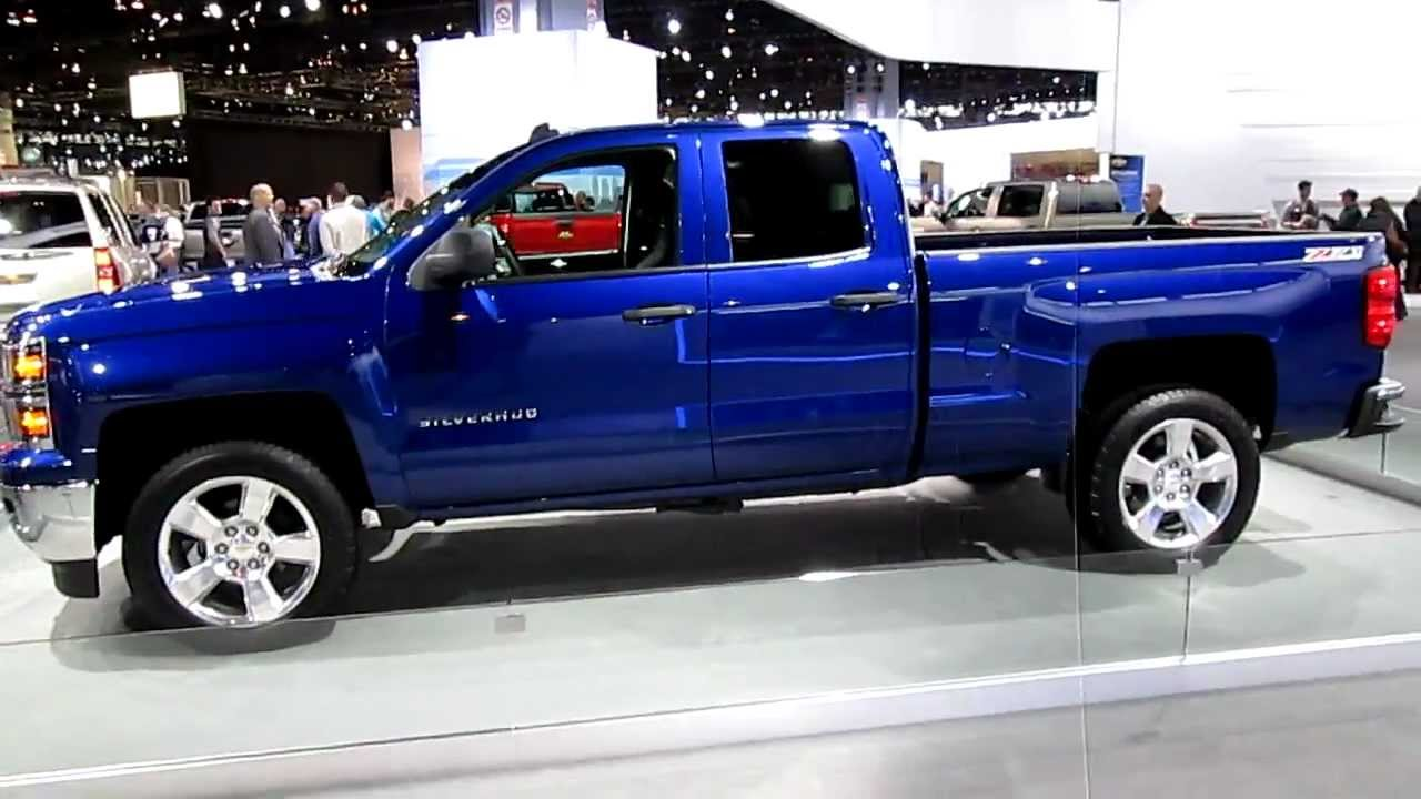 walkaround video of 2014 chevy silverado 1500 extended cab at the 2013 chicago auto show youtube. Black Bedroom Furniture Sets. Home Design Ideas