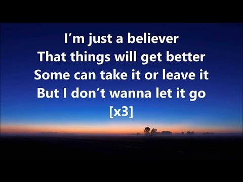 Believer - American Authors [Full Song Lyrics]