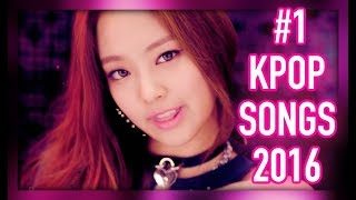 the 1 k pop songs of 2016