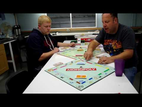 How to play double monopoly , with two boards .