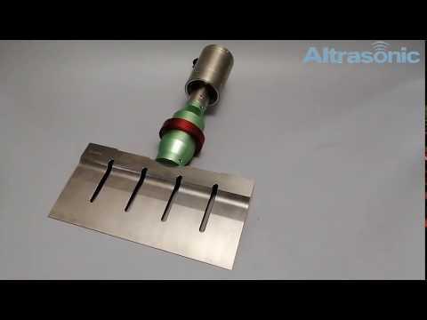 20kHz 305mm Blade Ultrasonic Food Cutting Machine
