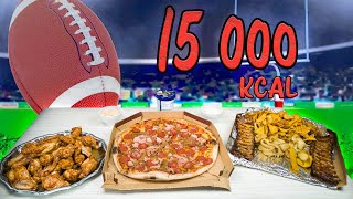 Super Bowl Haaste | 15 000 kcal