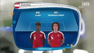 Austria lineup v Hungary: UEFA EURO 2016
