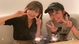 HKT48 の指原莉乃さんがインスタグラムに投稿した、タレント・若槻千夏...