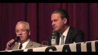 Maçonaria - Eduardo Campos em palestra ao GEAP
