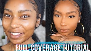 How to Cover Breakouts| Full Coverage Foundation