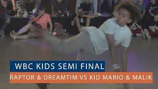 Raptor & DreamTim vs Kid Mario & Malik - Półfinał 2vs2 na World Bboy Classic Qualifier 2018