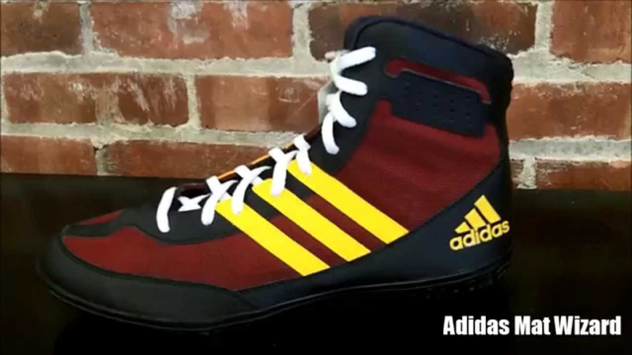 Adidas Mat Wizards & Varner Wrestling Shoe Preview - YouTube