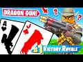 *NEW* DRAGONS BREATH *21* Card Game Mode in Fortnite