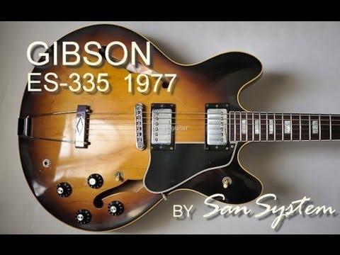 gibson es 335 1977 with split humbucker youtube. Black Bedroom Furniture Sets. Home Design Ideas