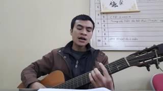 Tiếng hát giữa rừng Pác Bó - guitar