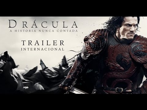 Trailer do filme Drácula: a história nunca contada