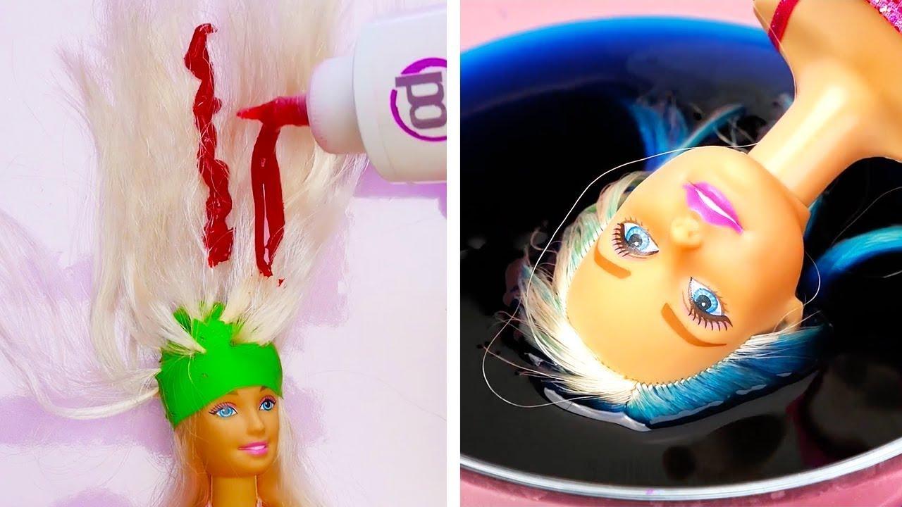 25 Hacks Gila Untuk Barbie Anda Youtube