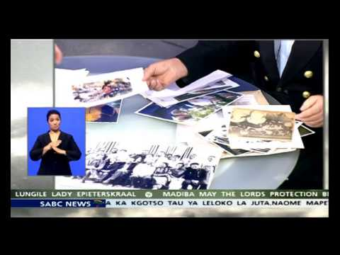 Jan Kopec, retired news cameraman on Madiba