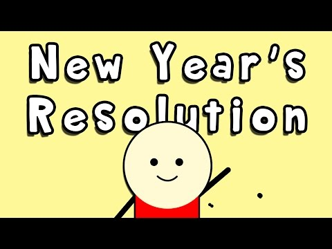 How to Make A New Year's Resolution