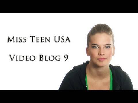 Miss Teen USA - Video Blog 9