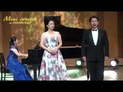 昼のミニコンサート 「乾杯の歌」菊池慈生(テノール) 原亜紀子(ソプラノ) 加藤千里(ピアノ)