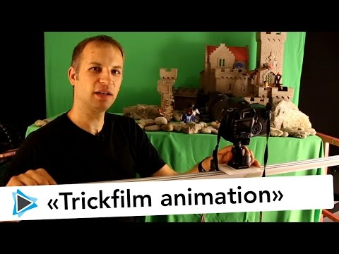 Trickfilm Animation mit Pinnacle Studio 19 Deutsch Stop Motion Tutorial Making of