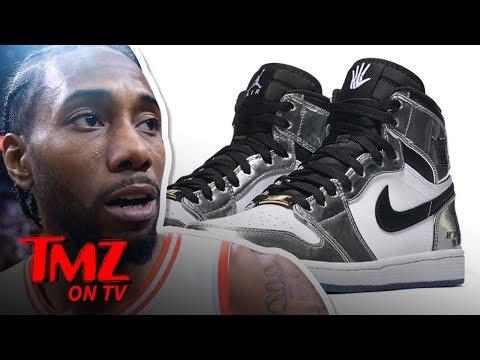 DJ Slab 1 - Kawhi Leonard Suing Nike Over 'Klaw' Logo, I Drew It Myself!